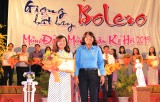 Phạm Thị Thu Ngân (Báo Long An) đoạt giải nhất Hội thi Giọng hát hay Bolero năm 2019