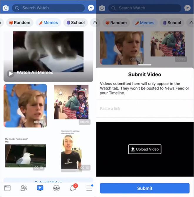 Dự án LOL của Facebook được thiết kế hướng đến tuổi teen. Ảnh: Techcrunch