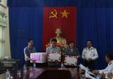 Thăm, chúc tết quân, dân huyện đảo Lý Sơn