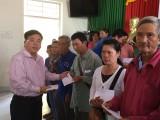 Hội Doanh nhân trẻ, Tỉnh đoàn, Hội LHTN tỉnh Long An tổ chức chương trình Xuân yêu thương