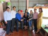 Tỉnh đoàn Long An thăm Mẹ Việt Nam anh hùng nhân dịp Tết Kỷ Hợi năm 2019