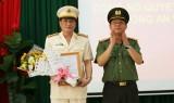 Đại tá Văn Công Minh giữ chức vụ Phó Giám đốc Công an tỉnh Long An