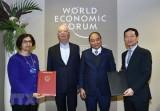 Thủ tướng tiếp xúc song phương bên lề Hội nghị WEF Davos 2019