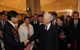 Tổng Bí thư, Chủ tịch nước Nguyễn Phú Trọng dự chương trình Xuân Quê hương