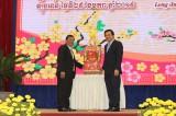 Đoàn đại biểu Vương quốc Campuchia chúc tết tỉnh Long An
