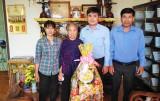 Báo Long An thăm, chúc tết Mẹ Việt Nam Anh hùng Lê Thị Hạnh
