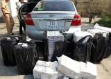 Bắt 10.800 gói thuốc lá ngoại nhập lậu