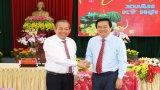 Phó Thủ tướng Thường trực Chính phủ Trương Hòa Bình chúc tết Đảng bộ, chính quyền  và nhân dân Long An