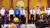 Báo Long An chúc tết Tỉnh ủy, HĐND, UBND tỉnh nhân dịp Xuân Kỷ Hợi 2019