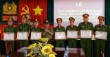 Tân Trụ khen thưởng lực lượng 09 tỉnh Long An