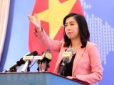 Việt Nam lên tiếng về việc tàu hải quân Mỹ đi qua quần đảo Trường Sa