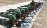 Tiểu đoàn Huấn luyện - Cơ động sẵn sàng tiếp nhận chiến sĩ mới