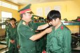 Tiểu đoàn Bộ binh 1 tiếp nhận 520 tân binh nhập ngũ năm 2019