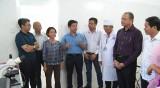 Bệnh viện Đa khoa Khu vực Cần Giuộc tiếp nhận máy tầm soát ung thư cổ tử cung
