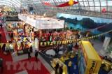 Gian hàng Việt Nam nổi bật ở Hội chợ triển lãm hàng đầu tại Đức