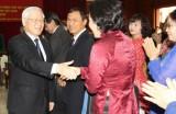 Tổng Bí thư, Chủ tịch nước Nguyễn Phú Trọng thăm Đại sứ quán Việt Nam tại Lào