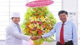Lãnh đạo tỉnh Long An thăm, chúc mừng các cơ sở y tế nhân Ngày Thầy thuốc Việt Nam