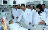 Thủ tướng: Đội ngũ y, bác sỹ là những 'người anh hùng thầm lặng'