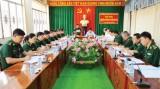 Nâng cao năng lực lãnh đạo, sức chiến đấu của tổ chức Đảng trong Đảng bộ Bộ đội Biên phòng tỉnh Long An