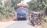 Mất an toàn giao thông tuyến đường Khánh Hưng - Hưng Điền A