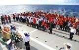 Tưởng nhớ các chiến sỹ đã anh dũng hy sinh tại đảo Gạc Ma