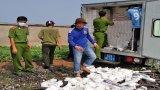 Đức Huệ: Triệt xóa điểm tàng trữ trên 43.000 gói thuốc lá lậu