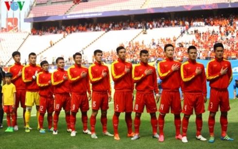 Dàn cầu thủ U20 Việt Nam dự U20 World Cup 2017 sẽ là nòng cốt của U23 Việt Nam ở Vòng loại U23 châu Á 2020. (Ảnh: Trọng Phú)