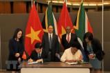 Việt Nam - Nam Phi tăng cường quan hệ hữu nghị và hợp tác toàn diện