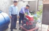 Vĩnh Hưng: Chủ động phòng cháy, chữa cháy mùa khô