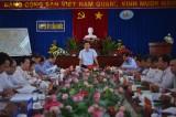 Ban Thường vụ Tỉnh ủy kiểm tra việc thực hiện Nghị quyết Trung ương 4 (khóa XII) của Huyện ủy Cần Đước