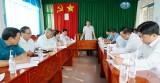 Kiểm tra việc thực hiện Nghị quyết Trung ương 4 (khóa XII) và Các quy định nêu gương tại Đảng ủy xã Bình Thạnh