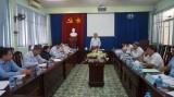 Long An kiểm tra việc lãnh đạo, chỉ đạo, tổ chức thực hiện Nghị quyết Trung ương 4 khóa XII tại Đảng ủy Sở Xây dựng
