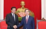 Dành ưu tiên cao để vun đắp, phát triển quan hệ đặc biệt Việt-Lào
