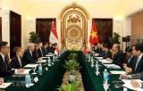 Thúc đẩy quan hệ đối tác chiến lược Việt Nam - Singapore