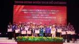 72 cán bộ Đoàn tiêu biểu nhận giải thưởng Lý Tự Trọng