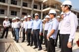 Bí thư Tỉnh ủy Long An kiểm tra tiến độ thực hiện Dự án Bệnh viện Đa khoa Khu vực Mộc Hóa
