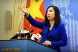Yêu cầu Trung Quốc chấm dứt hoạt động xâm phạm chủ quyền Việt Nam