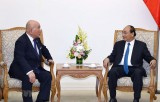 Thủ tướng tiếp cố vấn nội các đặc biệt của người đồng cấp Nhật Bản