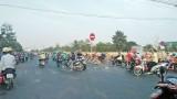 Vi phạm đi ngược chiều tiềm ẩn nhiều nguy cơ tai nạn giao thông