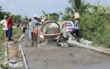 Mỹ Bình tiếp tục đầu tư hạ tầng giao thông, nước sạch