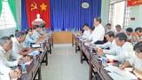 Bí thư Thành ủy Tân An giám sát chuyên đề giải phóng mặt bằng đường Vành đai thành phố