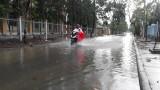 Tân Hưng: Nhiều tuyến đường ngập nước sau mưa