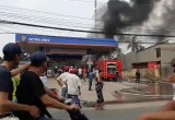 Cháy lớn tại Cửa hàng xăng dầu Hiệp Hòa