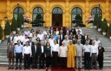 Tổng Bí thư, Chủ tịch nước gặp mặt đại diện Đoàn Chủ tịch MTTQ