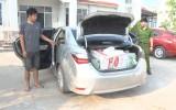 Đức Hòa: Thu giữ 8.300 gói thuốc lá lậu