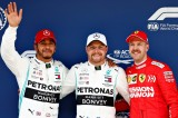 F1: Bottas và Hamilton áp đảo phân hạng China Grand Prix