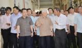 Tổng Bí thư, Chủ tịch nước Nguyễn Phú Trọng làm việc tại Kiên Giang