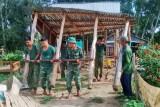 Đại đội Bộ binh Tân Hưng chăm lo đời sống người dân biên giới
