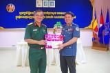 Bộ Chỉ huy Quân sự Long An thăm Tiểu khu Quân sự, Bộ Chỉ huy Hiến binh Svay Rieng- Campuchia