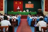 HĐND huyện Vĩnh Hưng họp bất thường bầu các chức danh chủ chốt